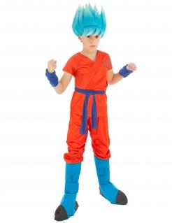 Dragonball Z™-Kostüm für Kinder Son Goku™-Kinderkostüm orange