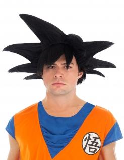 Dragon Ball™-Perücke Son Goku Accessoire schwarz