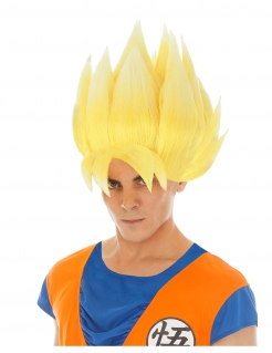 Son Goku™-Perücke Super Saiyjan Goku Dragon Ball Z™ blond