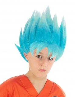 Goku™-Kinderperücke Dragon Ball Z™ blau