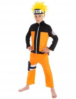Naruto™-Kinderkostüm Faschingskostüm orange-schwarz