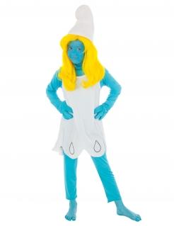Schlumpfine™-Kostüm für Mädchen Die Schlümpfe blau-weiss