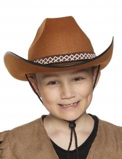 Cowboy-Hut für Kinder braun