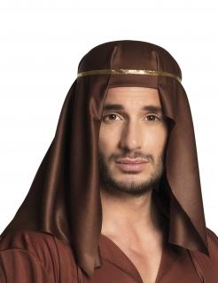 Arabisches Scheich-Kopftuch braun
