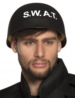 S.W.A.T. Helm für Erwachsene Kostüm-Accessoire schwarz