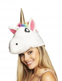Einhorn-Hut für Erwachsene bunt