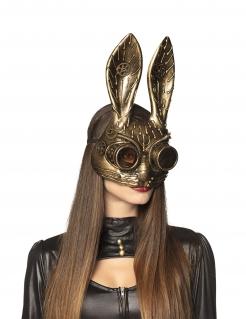 Steampunk-Maske Halbmaske für Erwachsene