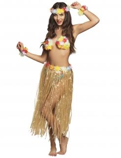 Hawaii-Set für Erwachsene Kostüm-Set bunt