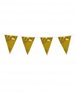 Girlande Partydeko gold 300cm