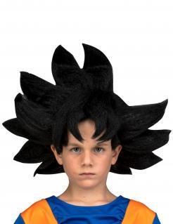 Son Goku™-Perücke für Kinder Dragon Ball™-Accessoire schwarz