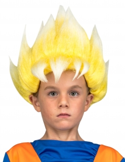 Super Saiyjan Goku™-Perücke für Kinder Dragon Ball™ Accessoire blond