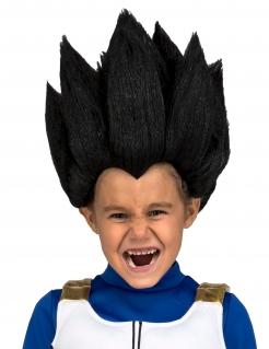 Vegeta™-Perücke für Kinder Dragon Ball™ schwarz