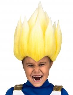 Super Saiyjan Vegeta™-Perücke für Kinder Dragon Ball™ blond