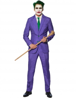 Mr. Joker™-Herrenanzug Suitmeister™ violett-grün