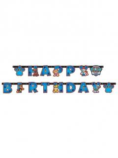 Paw Patrol™-Geburtstagsgirlande Happy Birthday blau 2m