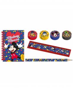 Mickey Maus™-Schreibset Dekoration 7-teilig bunt