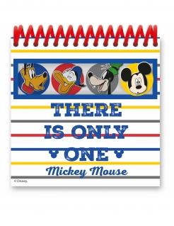 Mickey Maus™-Notizbuch Geschenkidee bunt