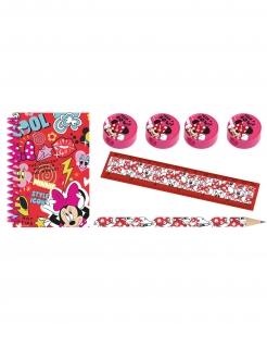 Minnie Maus™-Malset Geschenkidee 7-teilig rot