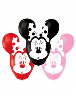 Minnie Maus™-Luftballons Riesenohren Partydeko 4 Stück bunt 55,8cm