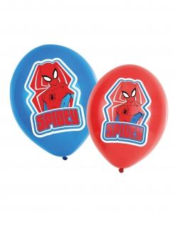 Spiderman™-Luftballons Spidey Superhelden-Deko rot-blau 27,5cm