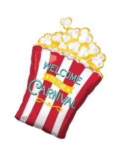 Witziger Popcorn-Ballon 50 x 73 cm bunt
