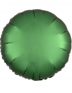 Runder Aluminium-Ballon grün 43 cm