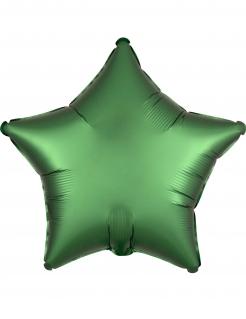 Aluminiumballon Sternform Raumdekoration grün 43 cm