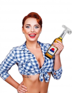 Flaschenaufsatz in Penisform