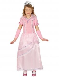 Prinzessinnen-Kostüm für Mädchen Faschingskostüm rosa