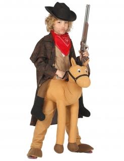Carry-Me-Cowboykostüm für Kinder braun