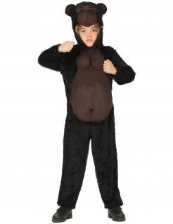Gorilla-Kostüm für Kinder Tierkostüm braun