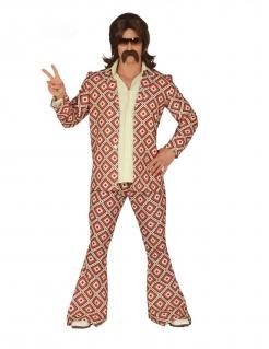 70er-Kostüm für Herren Disco-Kostüm bunt