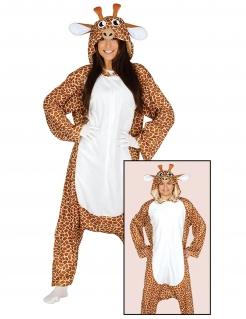 Giraffen-Kostüm Tierkostüm braun-weiss