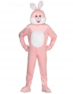 Hasenkostüm Tier-Kostüm rosa-weiss