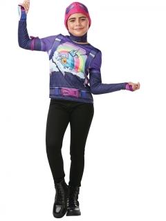 Farbenbomber-Kostüm für Kinder Fortnite™ violett-bunt