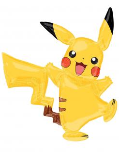 Pikachu™-Luftballon Aluminium-Ballon Pokémon-Partydeko gelb 132x144cm