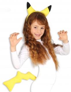 Elektro-Minimonster Accessoire-Set für Kinder gelb-schwarz