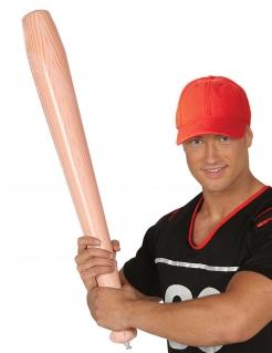 Baseball-Schläger aufblasbar für Erwachsene braun-beige 72 cm