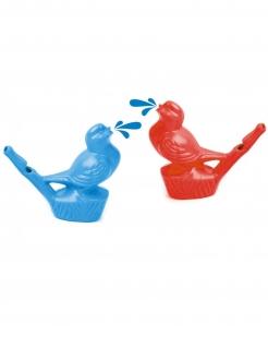 Vogelpfeife Piñata-Accessoire bunt 7cm
