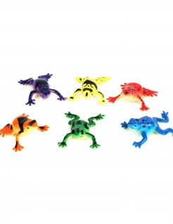 Frosch-Wasserpistole Piñata-Accessoire bunt 5,5cm