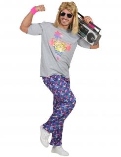 Freshes Beachboy-Kostüm für Herren 80er bunt