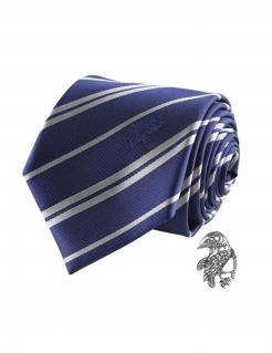 Ravenclaw-Krawatte mit Pin Harry Potter™ Accessoire blau-silber