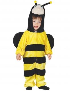 Bienen-Kostüm für Kinder Tier-Kostüm gelb-schwarz