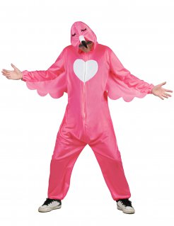 Flamingo-Kostüm für Herren Faschingskostüm pink