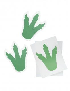 Aufkleber-Set Dinosaurier 6 Stück grün 18cm