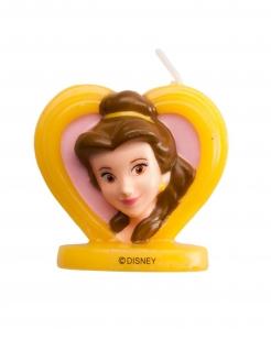 Belle™-Geburtstagskerze 3D Kuchendeko gelb 5,5cm
