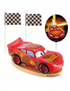 Cars™-Kuchendeko 4-teilig rot 8,5cm