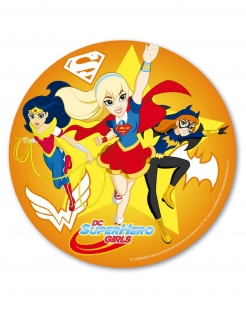 Super Hero Girls™-Kuchenplatte bunt 20cm