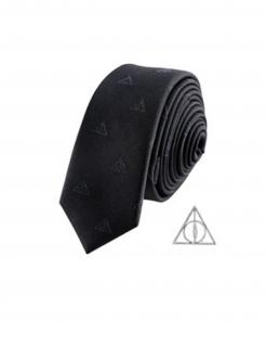 Harry Potter™-Krawatte Heiligtümer des Todes Deluxe-Accessoire schwarz