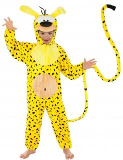Marsupilami™-Kostüm für Kinder Faschingskostüm gelb-schwarz